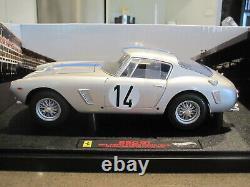 118 Hot Wheels Elite Ferrari 250 Gt Passo Corto Swb Le Mans 1961 New Last One