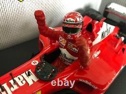118 Hotwheels Michael Schumacher Ferrari F2002 GP Hungry Marlboro Special Ed