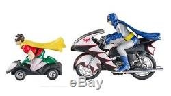 1966 Batcycle Side Car Die Cast Batman Robin 1/12 ELITE Hot Wheels Motorcycle