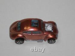 1968 Hot Wheels Redline Custom Volkswagon H. K. Copper MINT