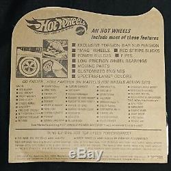 1969 Hot Wheels Lotus Turbine Spectraflame Aqua Blister Pack HK Redline HW1224