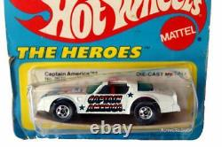 1978 Hot Wheels The Heroes Captain America Pontiac Firebird No. 2879