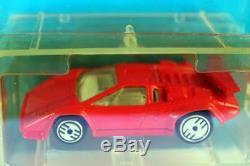 1989 Hot Wheels Park'N Plates COUNTACH Lamborghini