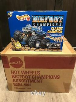 1990 Hot Wheels Bigfoot Classic Champion Monster Truck Factory Sealed Box