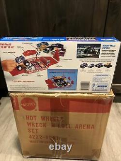 1991 Hot Wheels Bigfoot Champions Wreck N Roll Arena Factory Sealed Box