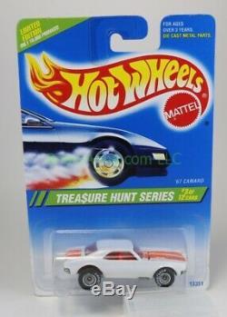 1995 Hot Wheels Treasure Hunt #355 White'67 Camaro