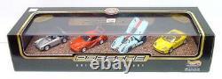 1998 Hot Wheels Porsche 50th Anniversary Box Set 917 930 550 Boxster CASE FRESH