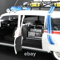 1/18 Hot Wheels Elite Ghostbusters Ecto-1 Diecast Car Model Collection
