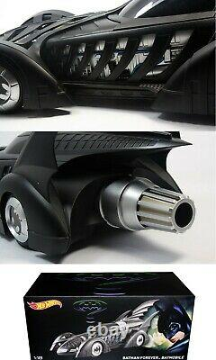 ###########1/18 Hotwheels Batman Forever Movie Batmobile#######################