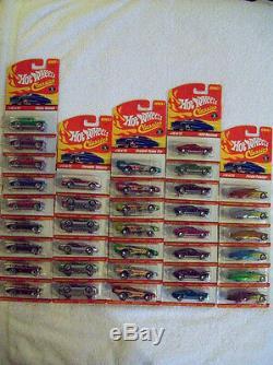 2004/05 Hot Wheels Classics Series 1 Complete Variation Set Cars