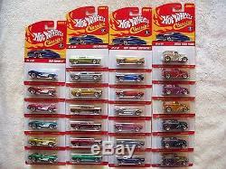 2005/06 Hot Wheels Classics Series 2 Complete Variation Set of 181 Original Cars