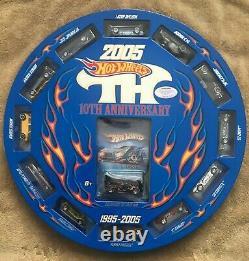2005 Hot Wheels 10th Anniversary Treasure Hunt Set Limited Edition