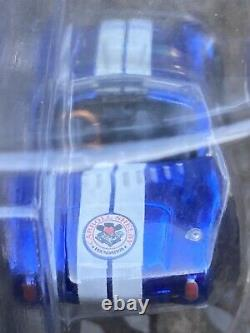 2014, 1 of 4000, Hot Wheels RLC SHELBY COBRA 427 S/C, blue/white, Red Line Club