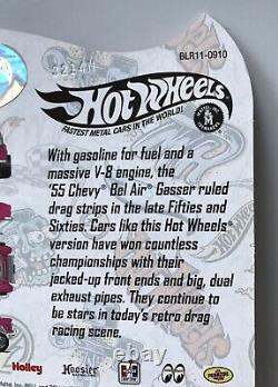 2014 Hot Wheels RLC CANDY STRIPER'55 Chevy Bel Air Gasser #1192/4000 FREE SHIP