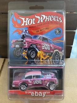 2014 Hot Wheels RLC CANDY STRIPER'55 Chevy Bel Air Gasser #2493/4000