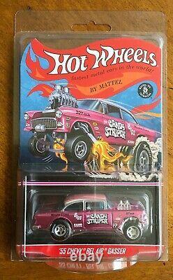2014 Hot Wheels RLC CANDY STRIPER'55 Chevy Bel Air Gasser #3923/4000 FREE SHIP