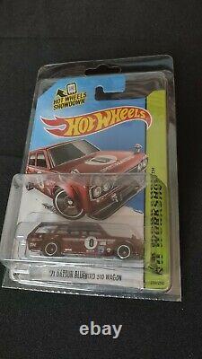 2014 Hot Wheels Super Treasure Hunt, 71 Datsun Bluebird 510 Wagon, NO RESERVE