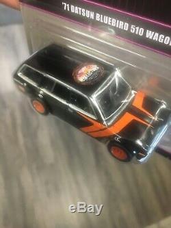 2015 Hot Wheels 29th Convention #1 Car 71 Datsun Bluebird 510 Wagon #1059/2400