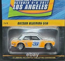 2017 31st Annual Hot Wheels Collectors Convention Datsun Bluebird 510
