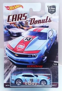 2017 Hot Wheels RLC Premium Boxed Set BRE Datsun Bluebird Gasser Mustang Camaro