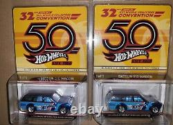 2018 Hot Wheels 32nd Collectors Convention Datsun 510 Wagon 1379 Super Nice Car