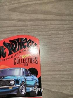 2018 Hot Wheels RLC'70 Ford Mustang Boss 302 Blue 6195/7000 Real Riders