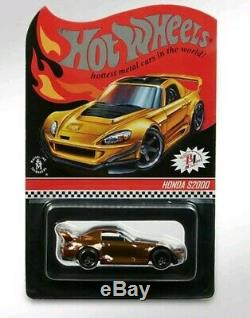 2019 HOT WHEELS Redline Club RLC Exclusive Honda S2000 Anniversary Car Confirmed