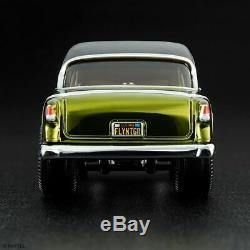 2019 Hot Wheels RLC 55 Chevy Bel Air Gasser Moon Eyes Lower Number 00285/12000