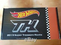 2019 RLC Hot Wheels Super Treasure Hunt Set. Factory Sealed IN HAND QUICK SHIP