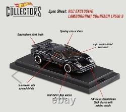 2020 Hot Wheels RLC HWC Exclusive Lamborghini Countach LP500 S (In Hand)