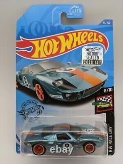 2020 Hot Wheels RLC HWC Factory Sealed Set Ford GT40 Super Treasure Hunt CRACKED