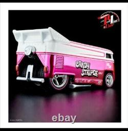 2021 HOT WHEELS RLC VOLKSWAGEN DRAG BUS CANDY STRIPER IN HAND Ready to ship #944