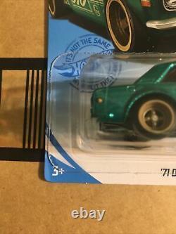 2021 Hot Wheels 1971 71 Datsun 510 Super Treasure Hunt