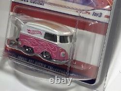 2021 Hot Wheels 21st National Convention Atlanta Volkswagen VW Kool Kombi Pink