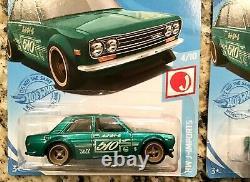 2021 Hot Wheels HW J-Imports Super Treasure Hunt ('71 Datsun 510)