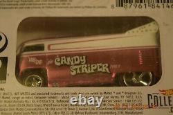 2021 Hot Wheels RLC Candy Striper Volkswagen Drag Bus Pink Logo Variant Card