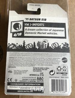 2021 Super Treasure Hunt 71 Datsun 510 Hot Wheels HW J-Imports 4/10