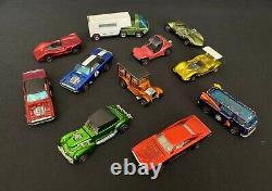 (23) Vintage Hot Wheels Redlines Lot Custom Camaro Mustang Charger Beach Bomb