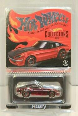 #3 Hot Wheels Datsun 240Z Red RLC Red Line Club Exclusive SUPER LOW NUMBER