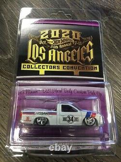 3-car Set 2020 Hot Wheels 34th LA Convention 41 Willys 93 Nissan VW T1