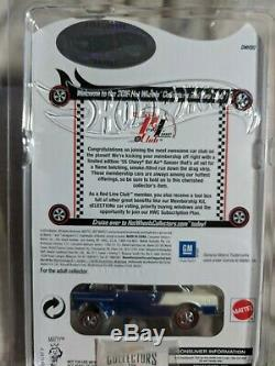 55 CHEVY BEL AIR GASSER Blue Hot Wheels RLC Club Exclusive Never Opened