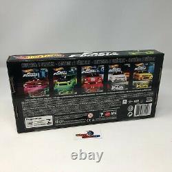 5 Car Box Set Fast & Furious Original Fast Hot Wheels ZA7