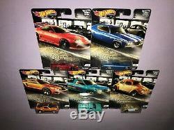 7x HOT WHEELS CAR CULTURE SETS JAPAN HISTORICS 2 / BOULEVARD / SHOP TRUCKS ++