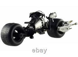 Bat Pod The Dark Knight Trilogy 1/18 Diecast Motorcycle By Hotwheels X5471