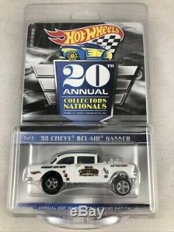 Collectors Convention 20th Annual 2020 Hot Wheels 55 Chevy Bel-Air Gasser