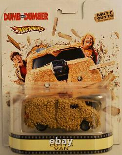 Custom Hot Wheels Mutt Cutts Van Retro Dumb & Dumber with Real Rider Rubber Tires