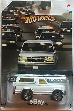 Custom Hot Wheels OJ Simpson's Ford Bronco Pursuit
