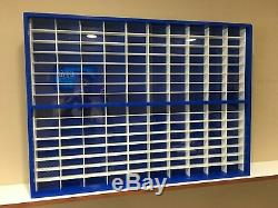 Display case cabinet for 1/64 diecast scale cars (hot wheels, matchbox) 160N2C