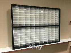 Display case cabinet for 1/64 diecast scale cars (hot wheels, matchbox) 160N3C-2