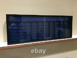 Display case cabinet for 1/64 diecast scale cars (hot wheels, matchbox) 61N2C